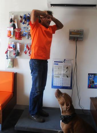 Coin pesée, clinique vétérinaire de Robinson, Sainte-Marie, Dumbéa